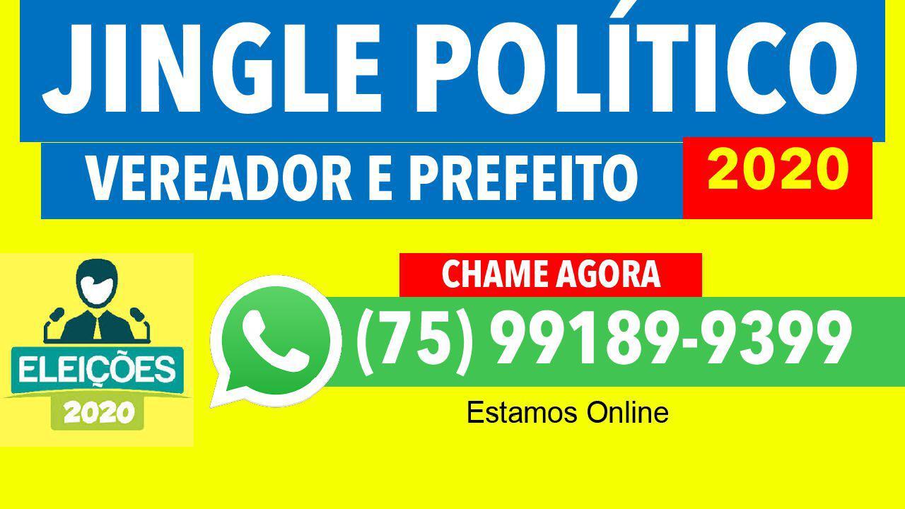 jingles politicos vereador prefeito 2020